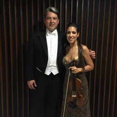 with Leticia Moreno