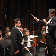 with José Francisco Araiza Andrade