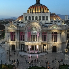 Opera house Bellas Artes